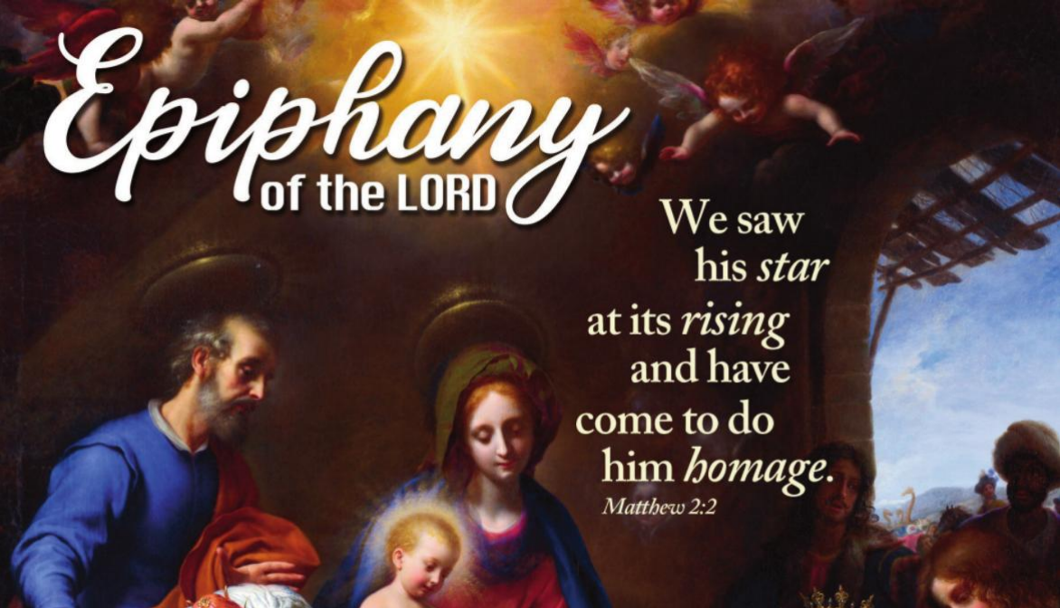 Bulletin for The Epiphany of the Lord
