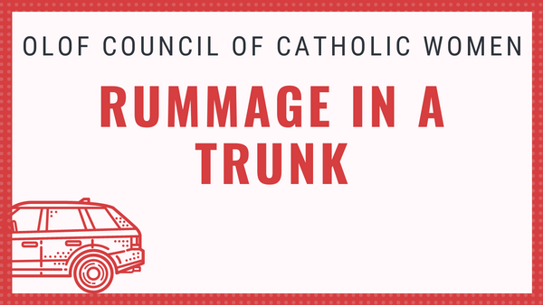 Rummage Sale to benefit CCW Scholarship Fund