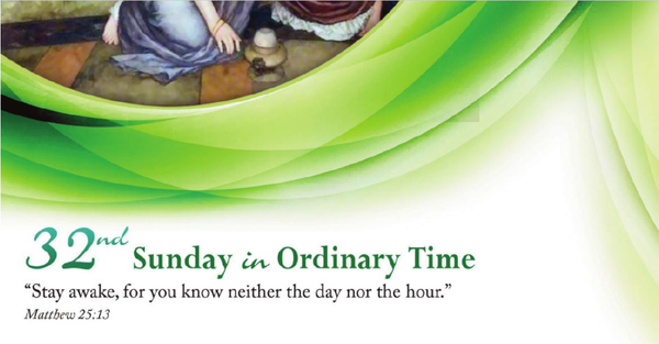 Bulletin for the 32nd Sunday in Ordinary Time