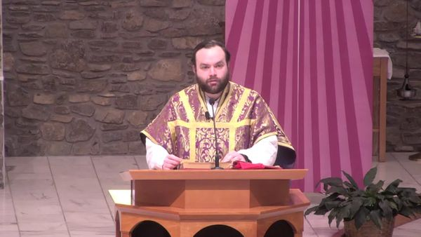 Fr. Adam's Homily - 1st Sunday of Advent