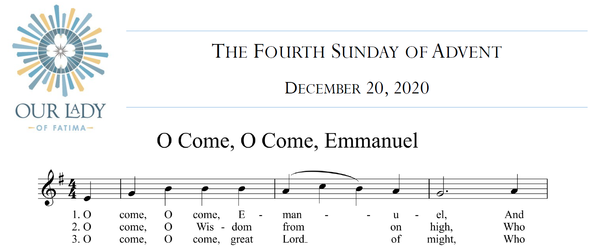 Worship Aid for The Fourth Sunday of Advent