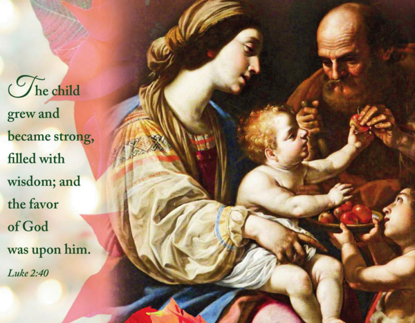 Bulletin for The Holy Family of Jesus, Mary, & Joseph