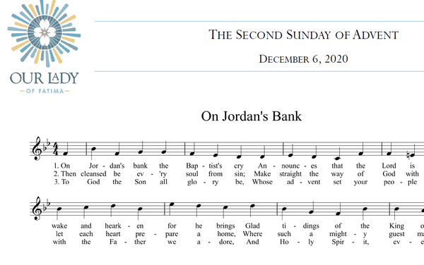 Worship Aid for the Second Sunday of Advent