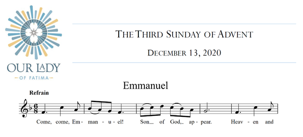 Worship Aid for The Third Sunday of Advent