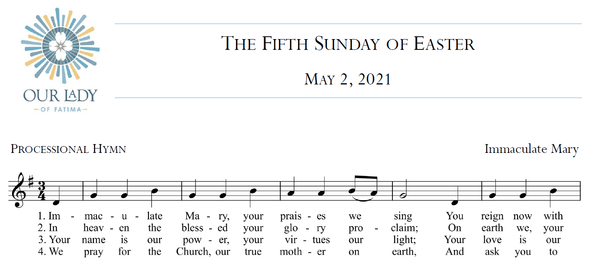 Worship Aid for Sunday, May 2, 2021